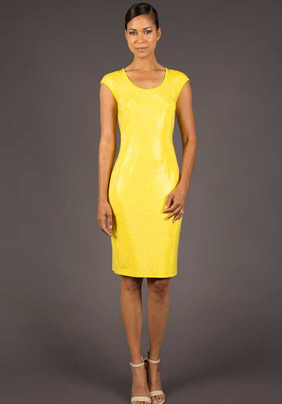Grayse Wedding Party W1421105-Yellow Yellow Mother Of The Bride Dress