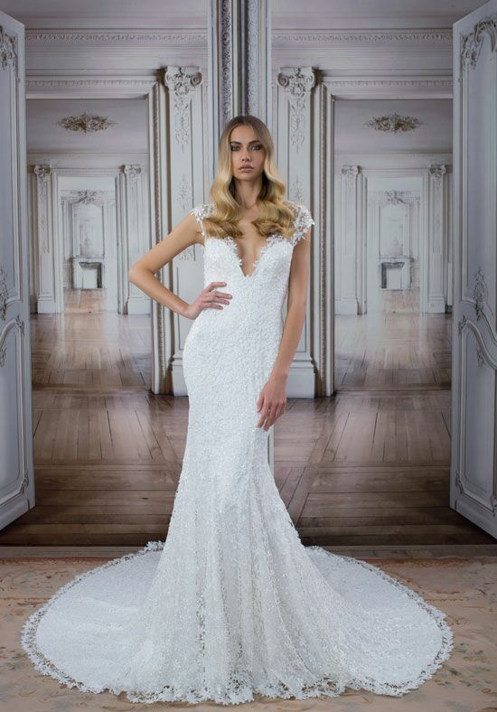LOVE by Pnina Tornai for Kleinfeld 14416 Mermaid Wedding Dress