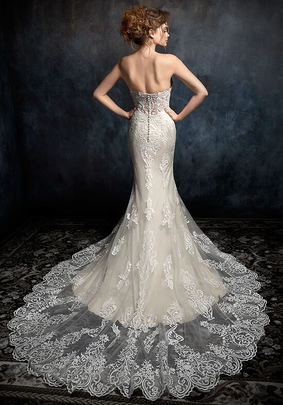 Kenneth Winston 1728 Mermaid Wedding Dress