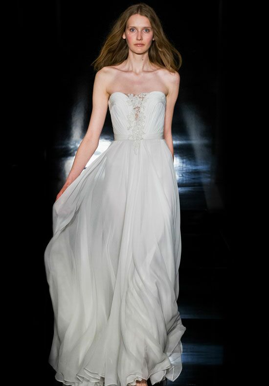 Reem Acra Erika A-Line Wedding Dress