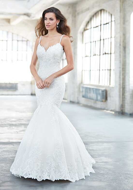 Madison james wedding dresses for Mermaid wedding dresses with feather bottom
