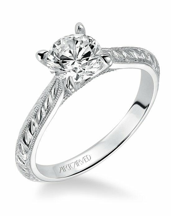 ArtCarved 31-V517ERW Engagement Ring photo