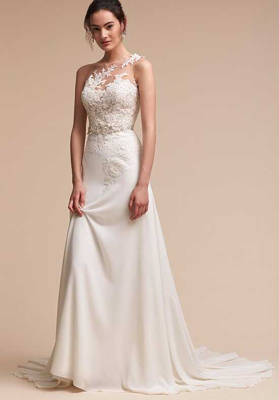 BHLDN Figura Sheath Wedding Dress