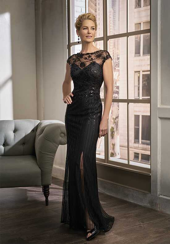 Jade Couture K198015 Black Mother Of The Bride Dress