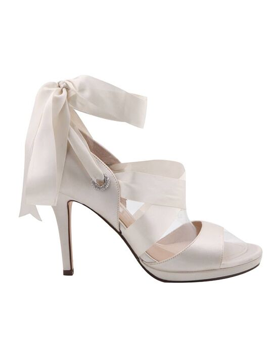 Nina Bridal Wedding Accessories Ramira Ivory Shoe