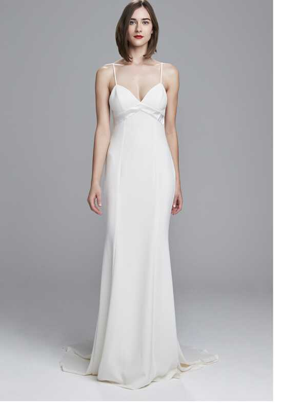 Nouvelle Amsale Jude Sheath Wedding Dress