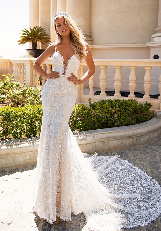 Moonlight Couture H1374 Mermaid Wedding Dress