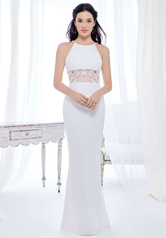 Kenneth Winston: Ella Rosa Collection BE414 Sheath Wedding Dress