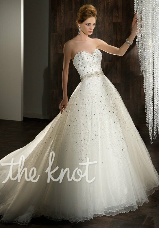 Demetrios 525 A-Line Wedding Dress