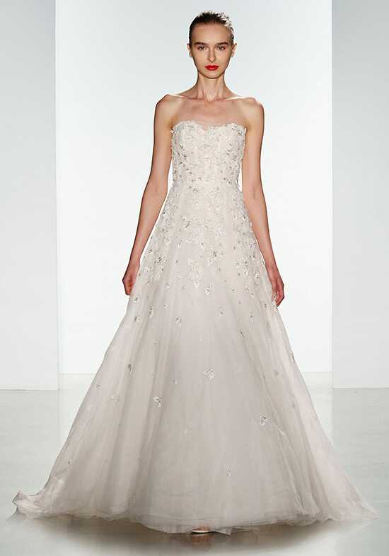 Amsale Ashton Wedding Dress photo