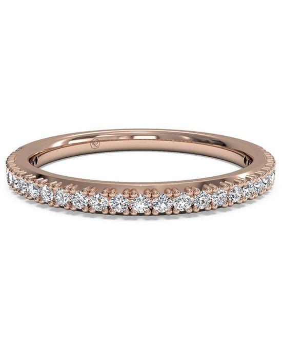Genial Ritani. Womenu0027s French Set Diamond Wedding Band   In 18kt Rose Gold ...
