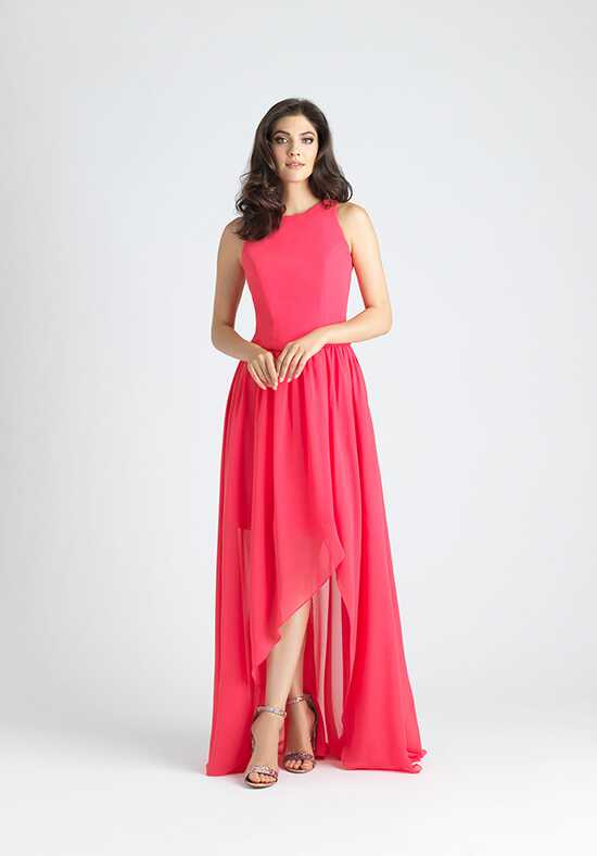 Allure Bridesmaids 1529T Bateau Bridesmaid Dress