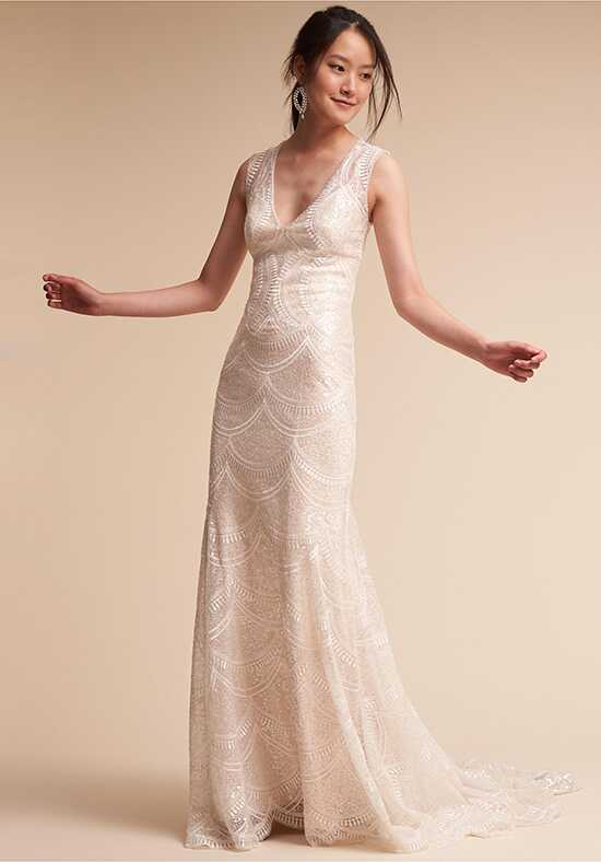 BHLDN Merida Sheath Wedding Dress