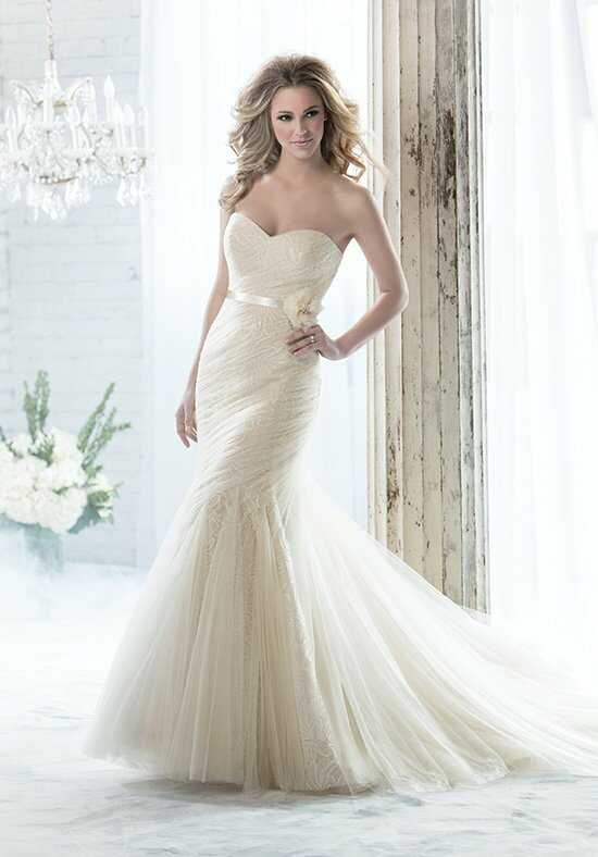 Jasmine Collection F161055 Mermaid Wedding Dress