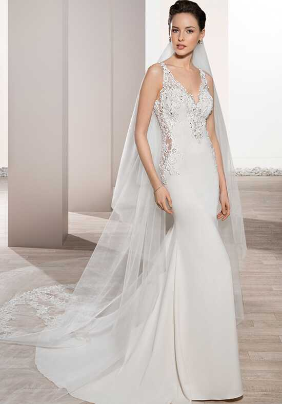 Demetrios 702 Sheath Wedding Dress