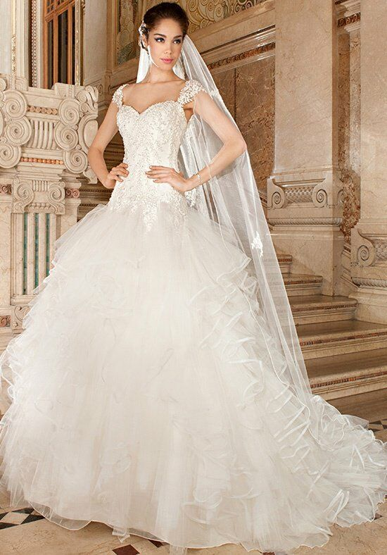 Demetrios GR270 Ball Gown Wedding Dress