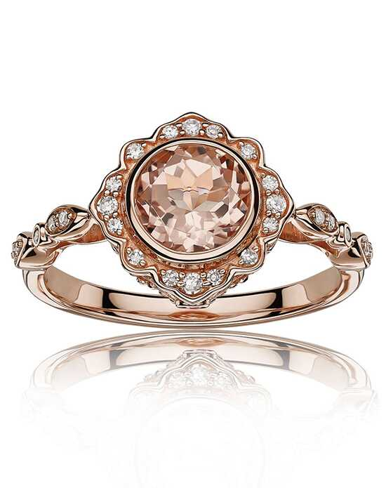 Rogers & Hollands® Glamorous Round Cut Engagement Ring