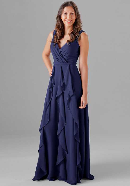 Kennedy Blue Everly V-Neck Bridesmaid Dress