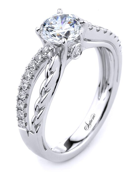 Supreme Jewelry Unique Round Cut Engagement Ring