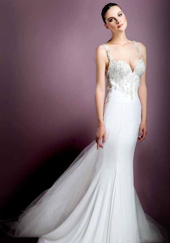 Stephen Yearick KSY73 Sheath Wedding Dress