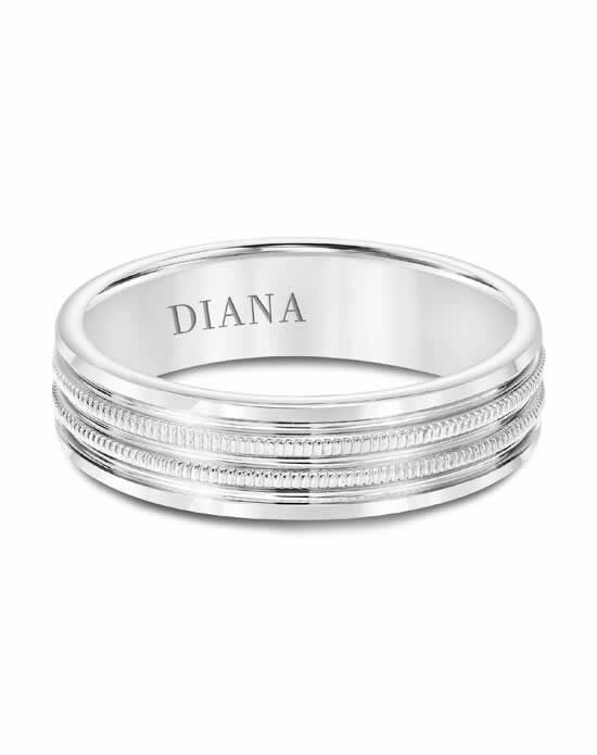Diana 11-N8758W6 Gold Wedding Ring