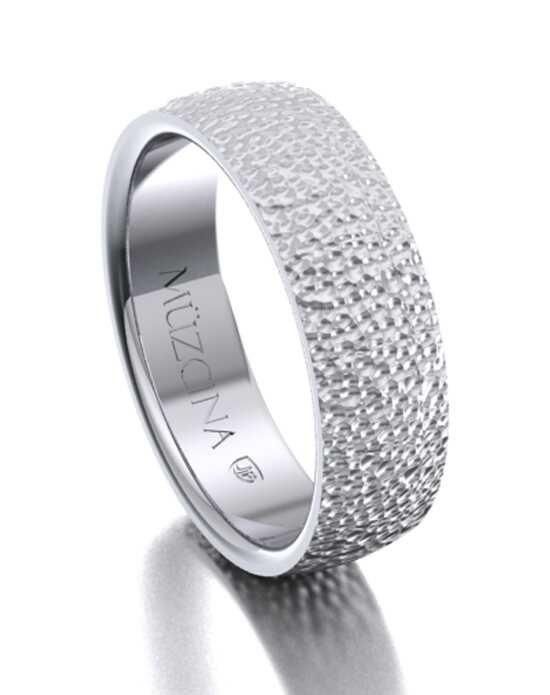 MÜZCINA by JJBückar BL31-R-100-X-XX-XX-PLT-HX-65 Platinum Wedding Ring