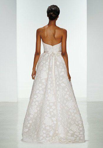 Amsale a681 ingrid wedding dress the knot for Amsale aberra wedding dresses