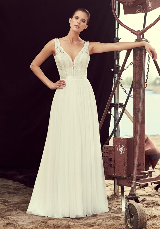 Mikaella 2193 A-Line Wedding Dress