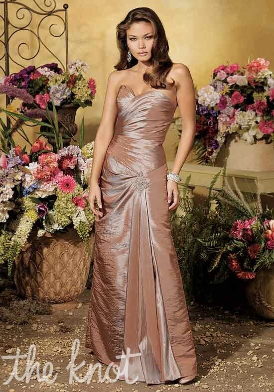 Couture Collection 1014 Strapless Bridesmaid Dress