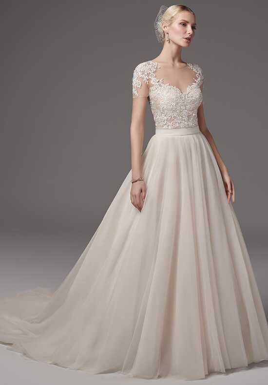 Sottero and Midgley Gillian bodysuit with Kallin skirt Ball Gown Wedding Dress