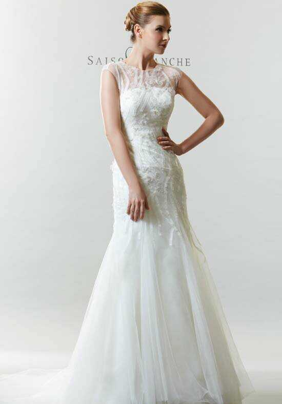 Saison Blanche Couture B3165 Mermaid Wedding Dress