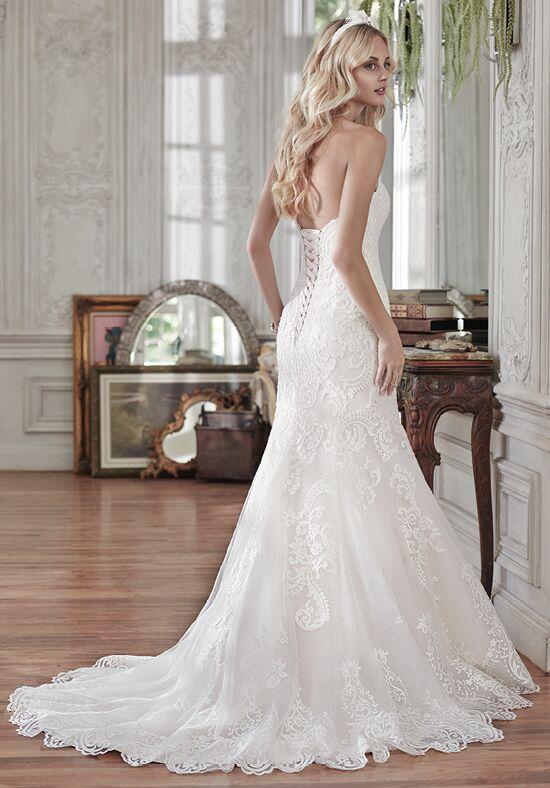 Maggie sottero rosamund wedding dress the knot for Maggie sottero mckenzie wedding dress