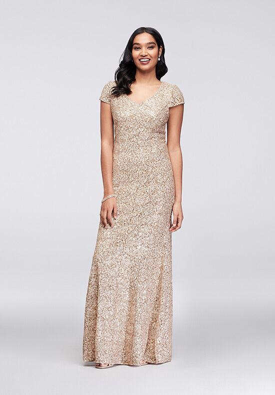 David's Bridal Mother of the Bride 11220631 Champagne Mother Of The Bride Dress