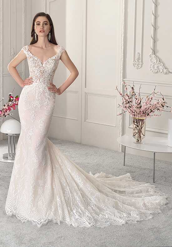 Demetrios 847 Mermaid Wedding Dress