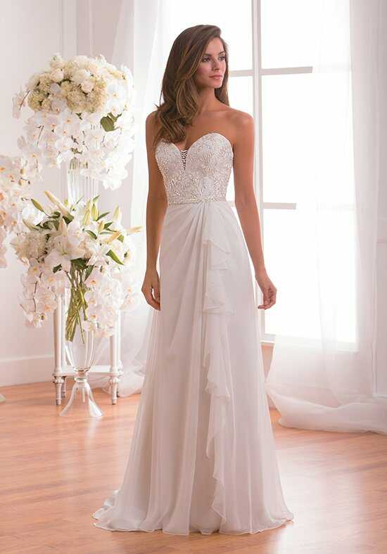 Jasmine Collection F171006 A-Line Wedding Dress