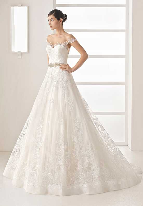 Two by Rosa Clará Olesa A-Line Wedding Dress