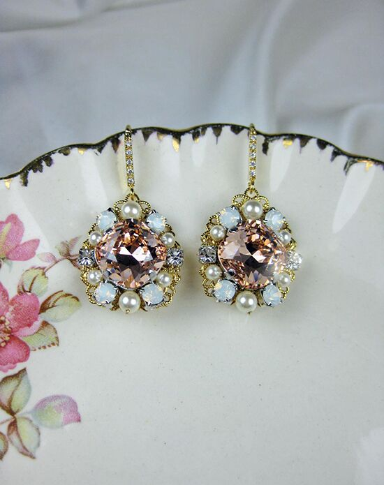 Everything Angelic Chase II Earrings - e350 gold Wedding Earring photo