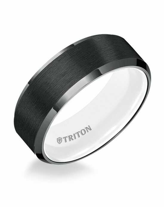 Triton 11-5622TBH-G Tungsten Wedding Ring