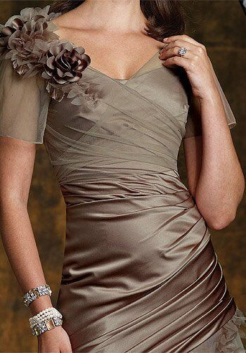 Montage Boutique 112951 Brown Mother Of The Bride Dress
