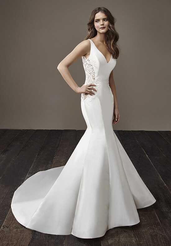 Badgley Mischka Bride Beth Mermaid Wedding Dress