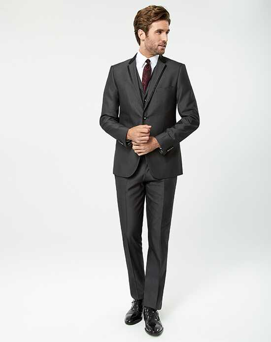 LE CHÂTEAU Wedding Boutique Tuxedos MENSWEAR_359925_008 Gray Tuxedo