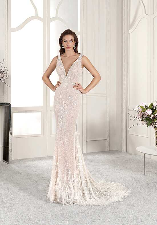 Demetrios 882 Sheath Wedding Dress