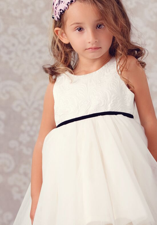 FATTIEPIE Audrey Ivory Flower Girl Dress