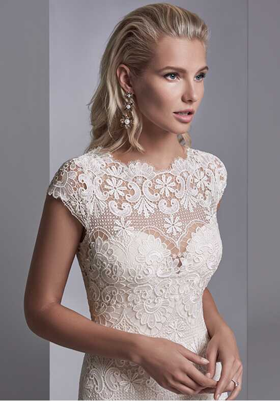 Sottero and Midgley Zayn Rose Sheath Wedding Dress