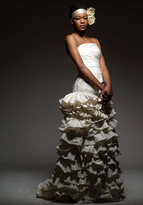Elizabeth St. John Calypso Sheath Wedding Dress