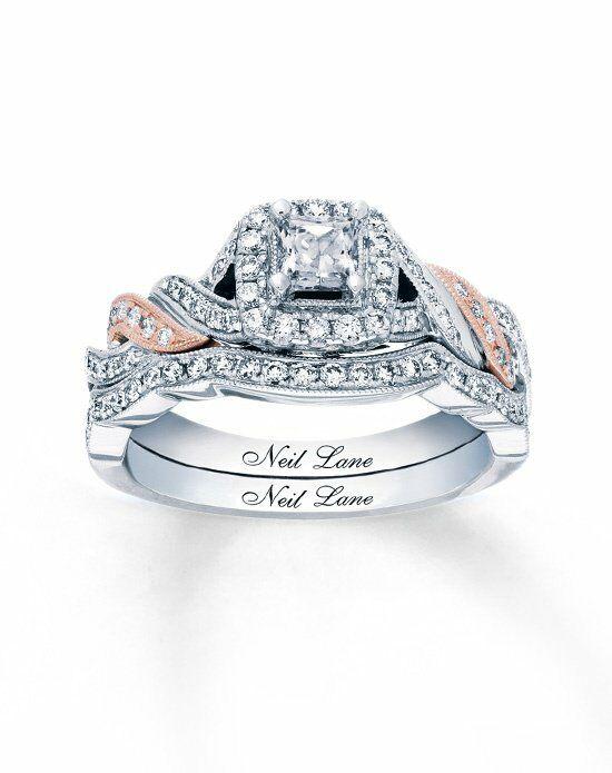 Neil Lane Princess Cut Engagement Ring
