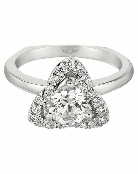 FlyerFit by Martin Flyer Cut Engagement Ring