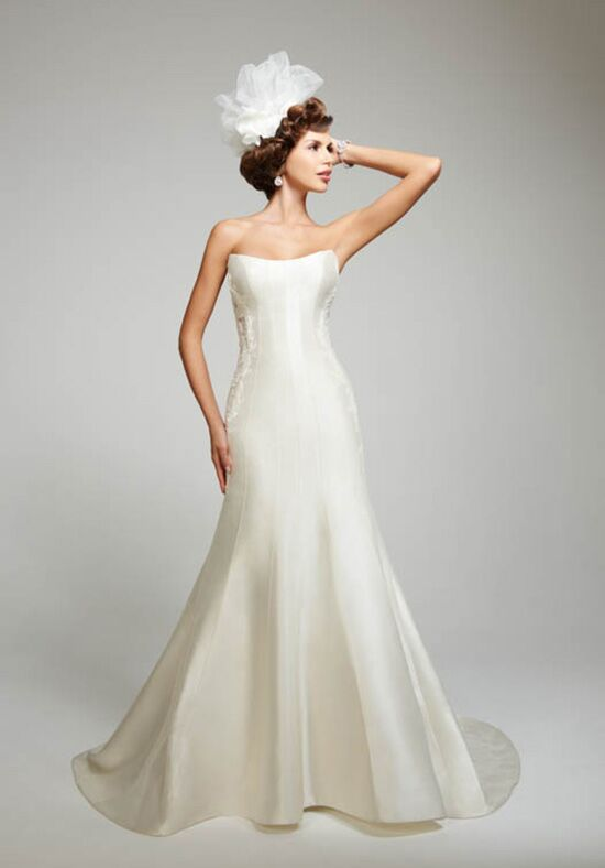 Matthew christopher juniper wedding dress the knot for Matthew christopher wedding dress prices