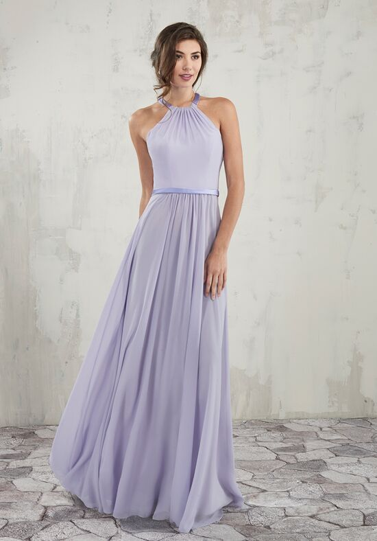 Amalia by Mary's Bridal MB7014 Halter Bridesmaid Dress