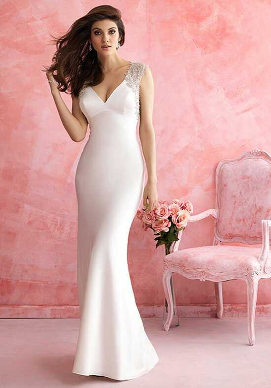 Allure Romance 2814 Sheath Wedding Dress